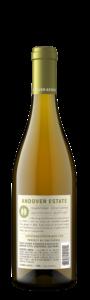 Andover Estate 2018 Chardonnay Back Bottle Shot – transp