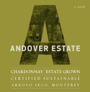 Andover Estate 2018 Chardonnay Label – transp
