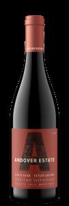 Andover Estate 2018 Pinot Noir Bottle Shot – transp