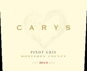 Carys 2018 Pinot Gris Lighter Label – transp