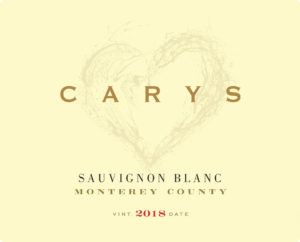 Carys 2018 Sauvignon Blanc Label