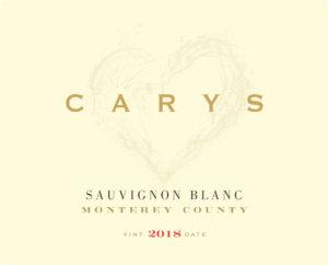 Carys 2018 Sauvignon Blanc Lighter Label