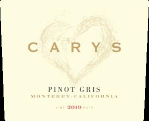 Carys 2019 Pinot Gris Label – transp