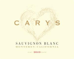 Carys 2019 Sauvignon Blanc Label