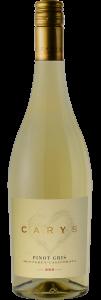 Carys 2019 Pinot Gris Bottle Shot – transp