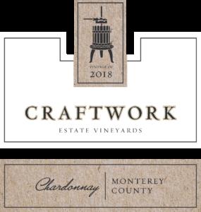 Craftwork 2018 Chardonnay Label – transp
