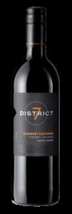 District 7 2018 Cabernet Sauvignon Bottle Shot – transp