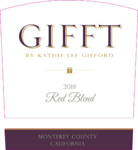 GIFFT 2018 Red Blend Label
