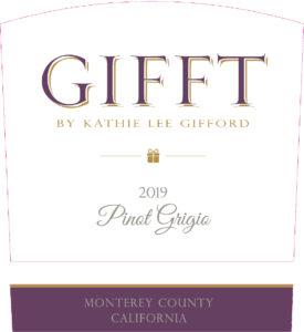 GIFFT 2019 Pinot Grigio Label