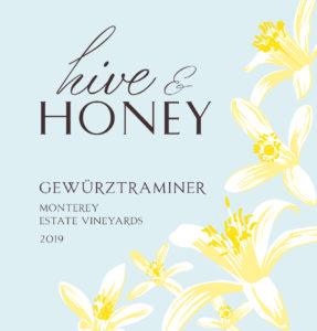 Hive & Honey 2019 Gewurzt Label