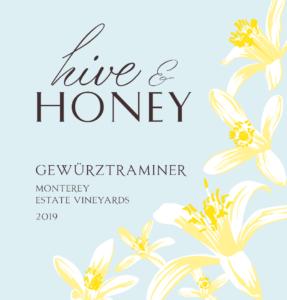 Hive & Honey 2019 Gewurzt Label – transp