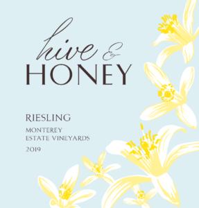 Hive & Honey 2019 Riesling Label – transp