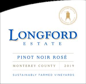 Longford Estae 2019 Pinot Noir Rose Label – transp