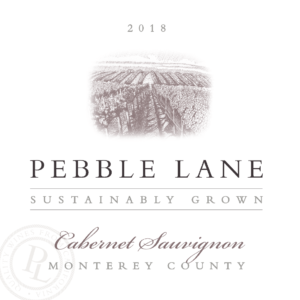 Pebble Lane 2018 Cab Sauv Label – transp