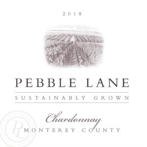 Pebble Lane 2018 Chardonnay Label – transp