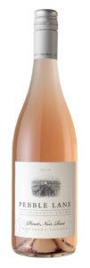 Pebble Lane 2018 Pinot Noir Rose Bottle Shot