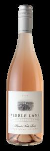 Pebble Lane 2018 Pinot Noir Rose Bottle Shot – transp