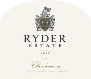 Ryder Estate 2018 Chardonnay Label