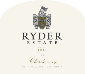 Ryder Estate 2018 Chardonnay Label – transp
