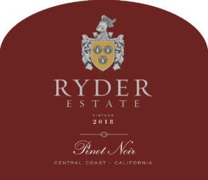 Ryder Estate 2018 Pinot Noir Label