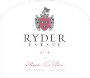 Ryder Estate 2019 Pinot Noir Rose Label