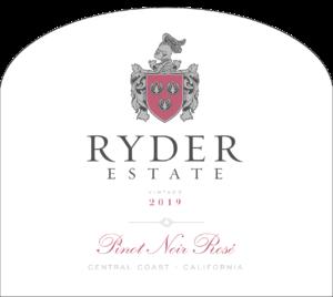 Ryder Estate 2019 Pinot Noir Rose Label – transp