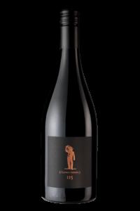 Scheid Vineyards 2017 Reserve Pinot Noir Clone 115 Bottle Shot – transp