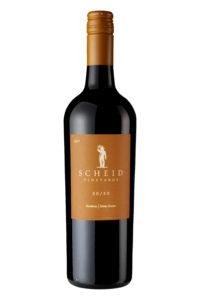 Scheid Vineyards 2017 50/50 Red Blend Bottle Shot