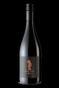Scheid Vineyards 2017 Reserve Pinot Noir Clone 667 Bottle Shot – transp