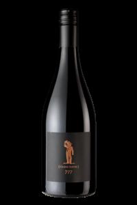 Scheid Vineyards 2017 Reserve Pinot Noir Clone  777 Bottle Shot – transp