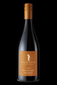 Scheid Vineyards 2017 GSM Red Blend Bottle Shot – transp