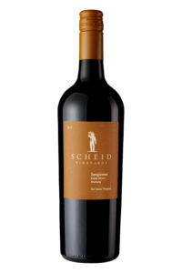 Scheid Vineyards 2017 Sangiovese Bottle Shot