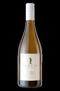 Scheid Vineyards 2018 Albarino Bottle Shot – transp