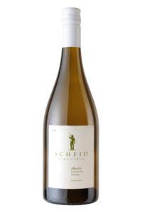Scheid Vineyards 2018 Albarino Bottle Shot