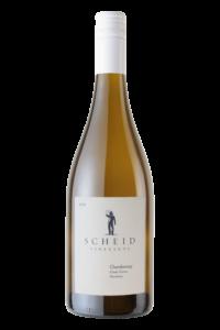 Scheid Vineyards 2018 Chardonnay Bottle Shot – transp