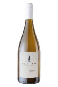 Scheid Vineyards 2018 Chardonnay Bottle Shot