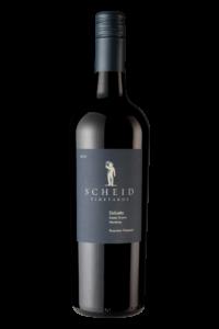 Scheid Vineyards 2018 Dolcetto Bottle Shot – transp