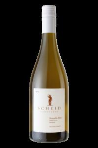 Scheid Vineyards 2018 Grenache Blanc Bottle Shot – transp