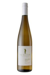 Scheid Vineyards 2018 Gruner Veltliner Bottle Shot