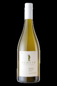Scheid Vineyards 2018 Pinot Blanc Bottle Shot – transp