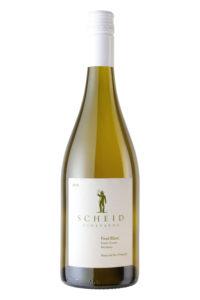 Scheid Vineyards 2018 Pinot Blanc Bottle Shot