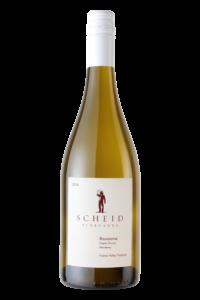 Scheid Vineyards 2018 Rousanne Bottle Shot – transp