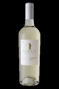Scheid Vineyards 2018 Sauvignon Blanc Bottle Shot – transp