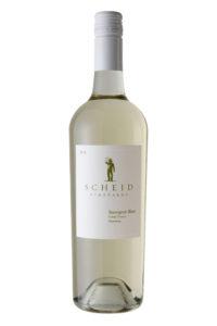 Scheid Vineyards 2018 Sauvignon Blanc Bottle Shot