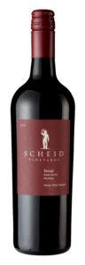 Scheid Vineyards 2018 Tannat Bottle Shot