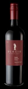 Scheid Vineyards 2018 Tannat Bottle Shot – transp