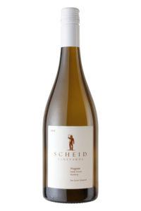 Scheid Vineyards 2018 Viognier Bottle Shot