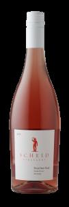 Scheid Vineyards 2019 Pinot Noir Rose Bottle Shot – transp