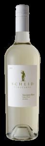 Scheid Vineyards 2019 Sauvignon Blanc Bottle Shot – transp