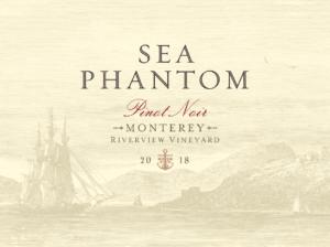 Sea Phantom 2018 Pinot Noir Label – transp